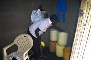 The Water Project: Shianda Community, Akhonya Spring -  Adding To Water Storage