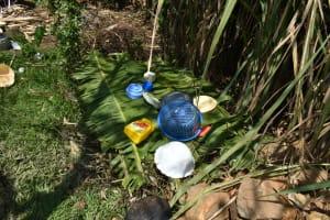 The Water Project: Shianda Community, Akhonya Spring -  Improvised Dishrack