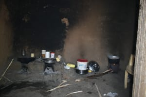 The Water Project: Shianda Community, Akhonya Spring -  Inside A Kitchen
