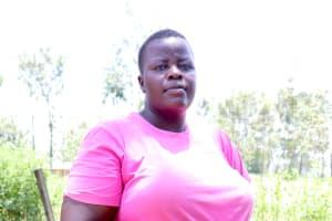 The Water Project: Elwichi Community, Mulunda Spring -  Dora Musochi