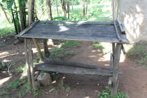 The Water Project: Litinye Community, Vuyanzi Spring -  Dishrack