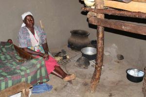 The Water Project: Litinye Community, Vuyanzi Spring -  Inside Her Kitchen
