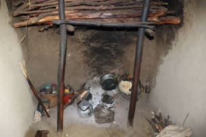 The Water Project: Luyeshe Community, Khausi Spring -  Cooking Area