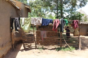 The Water Project: Luyeshe Community, Khausi Spring -  More Clothes Out For Drying