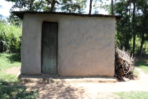The Water Project: Luyeshe Community, Khausi Spring -  Outside The Kitchen