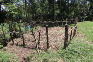 The Water Project: Luyeshe Community, Khausi Spring -  The Animal Pen