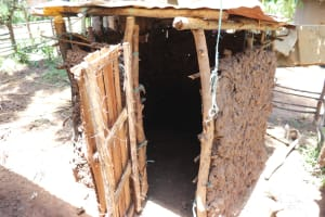 The Water Project: Luyeshe Community, Khausi Spring -  The Calf Pen
