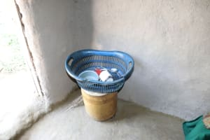 The Water Project: Luyeshe Community, Khausi Spring -  Utencils In The Kitchen