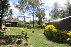The Water Project: Kalenda A Community, Sanya Spring -  A Homestead