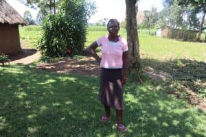 The Water Project: Kalenda A Community, Sanya Spring -  Peris Sanya