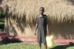 The Water Project: Lukala West Community, Angatia Spring -  Brenda