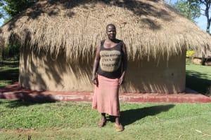 The Water Project: Lukala West Community, Angatia Spring -  Violet Ekeri