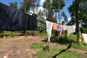 The Water Project: Shikokhwe Community, Mulika Spring -  Clothesline