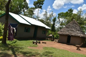 The Water Project: Shikokhwe Community, Mulika Spring -  Home Compound