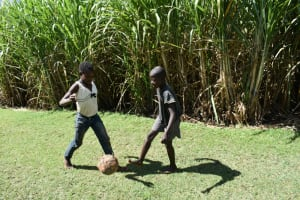 The Water Project: Malekha West Community, Soita Spring -  Children Playing