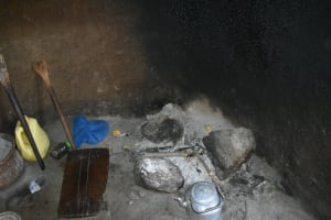 The Water Project: Malekha West Community, Soita Spring -  Fireplace