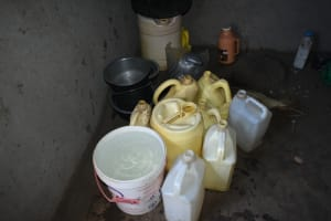 The Water Project: Malekha West Community, Soita Spring -  Storarge Containers