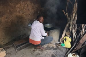 The Water Project: Bukhaywa Community, Violet Inganji Spring -  Betty Cooking
