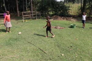 The Water Project: Bukhaywa Community, Violet Inganji Spring -  Children Playing