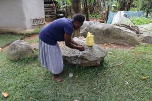 The Water Project: Bukhaywa Community, Violet Inganji Spring -  Violet Handwashing