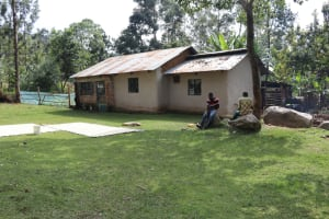 The Water Project: Bukhaywa Community, Violet Inganji Spring -  At Home