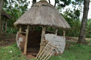 The Water Project: Luyeshe North Community, Reuben Endeche Spring -  Animal Pens