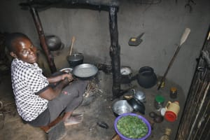 The Water Project: Luyeshe North Community, Reuben Endeche Spring -  Cooking