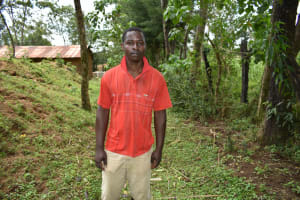 The Water Project: Luyeshe North Community, Reuben Endeche Spring -  Kevin Omondi