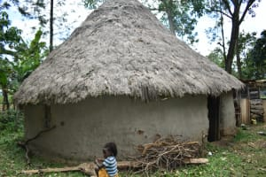 The Water Project: Luyeshe North Community, Reuben Endeche Spring -  Outside The Kitchen