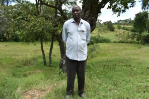 The Water Project: Luyeshe North Community, Reuben Endeche Spring -  Reuben