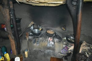 The Water Project: Luyeshe North Community, Reuben Endeche Spring -  Traditional Oven