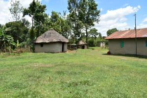 The Water Project: Luyeshe North Community, Reuben Endeche Spring -  Home Compound