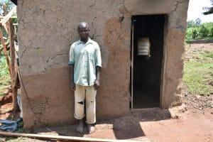 The Water Project: Shihome Community, Oloo Njinuli Spring -  John Bushuru