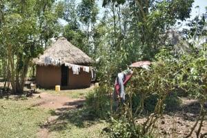 The Water Project: Shianda Community, Govet Lumbasi Spring -  A Homestead