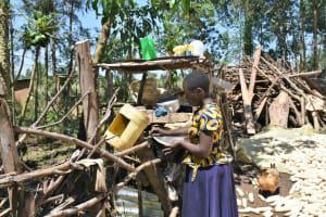 The Water Project: Shianda Community, Govet Lumbasi Spring -  Airing Utensils