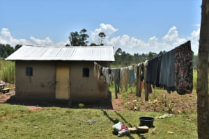 The Water Project: Shianda Community, Govet Lumbasi Spring -  Clothes Drying