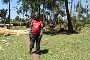 The Water Project: Shianda Community, Govet Lumbasi Spring -  Shirleen