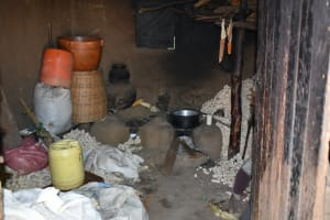The Water Project: Shianda Community, Govet Lumbasi Spring -  Inside The Kitchen