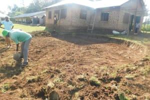 The Water Project: ACK St. Peter's Khabakaya Secondary School -  Rain Tank Excavation