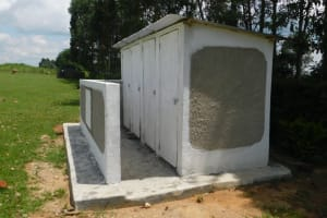 The Water Project: ACK St. Peter's Khabakaya Secondary School -  Complete Vip Latrine Block