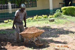 The Water Project: Makunga Secondary School -  Preparing Materials