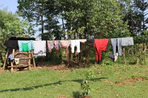 The Water Project: Makhwabuyu Community, Shirandula Spring -  Clothesline