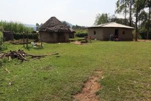 The Water Project: Makhwabuyu Community, Shirandula Spring -  Homestead