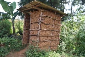 The Water Project: Makhwabuyu Community, Shirandula Spring -  Latrine
