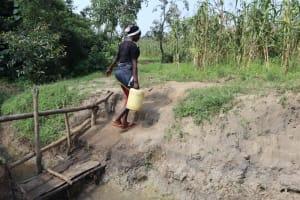 The Water Project: Makhwabuyu Community, Shirandula Spring -  Leaving The Spring