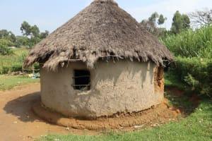 The Water Project: Makhwabuyu Community, Shirandula Spring -  Outside The Kitchen