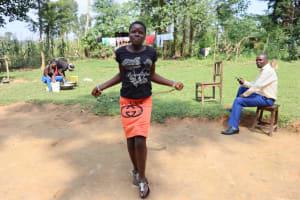 The Water Project: Makhwabuyu Community, Shirandula Spring -  Playing Jumprope