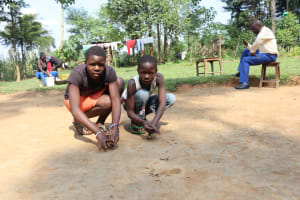 The Water Project: Makhwabuyu Community, Shirandula Spring -  Playing Marbles