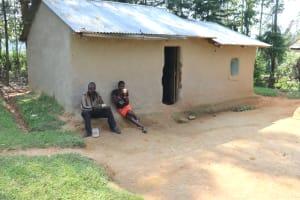 The Water Project: Makhwabuyu Community, Shirandula Spring -  Resting At Home