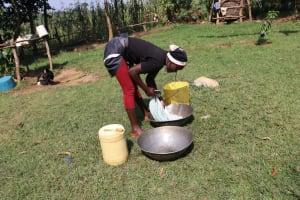 The Water Project: Makhwabuyu Community, Shirandula Spring -  Washing Clothes